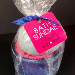 Bath Sundae Childrens Bath Bomb Bubble Gum Scent